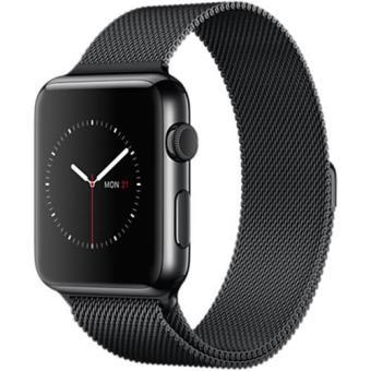 Apple Watch 42 | Bracelete Milanesa Preto Sideral
