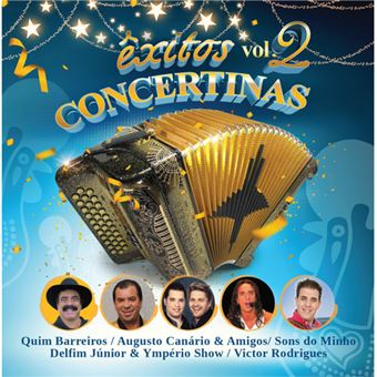 Êxitos Concertinas Vol 2 - CD