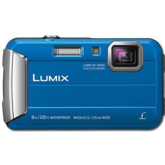 Câmara Aventura Panasonic Lumix DMC-FT30 - Azul