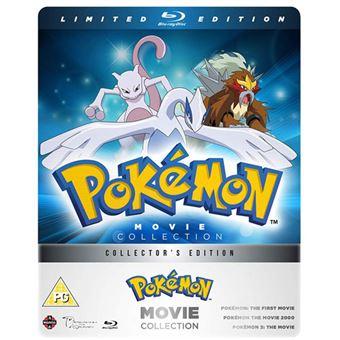 Pokémon Movie Collection - 3 Blu-ray Importação