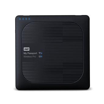 Disco Externo Western Digital My Passport Wireless Pro 4TB Preto