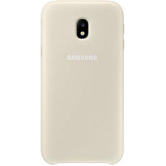 Capa Samsung Dual Layer para Galaxy J3 2017 - Dourado