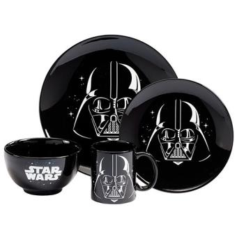 a215cd9a1 Star Wars - Serviço de Jantar com 4 Peças - Star Wars - Star Wars ...