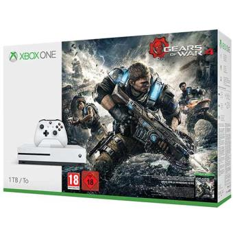 Consola Microsoft Xbox One S 1TB + Gears Of War 4