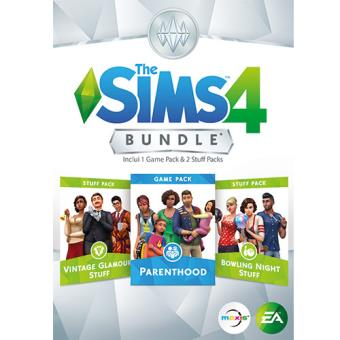 Pack The Sims 4 PC: Parenthood | Vintage Glamour Stuff | Bowling Night Stuff