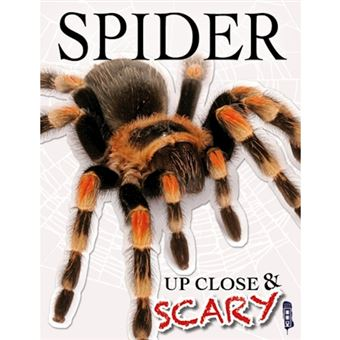 Up close & scary spider