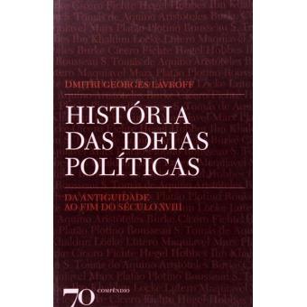 História das Ideias Políticas Vol 1