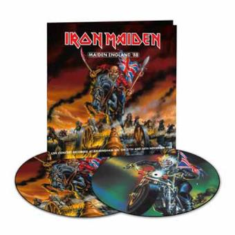 Maiden England '88 (remastered) (180g) (Limited Edition) (Picture Disc) (2LP)