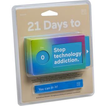 Caixa de Desafios - 21 Dias Para Parar com a Dependência Tecnológica