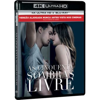 As Cinquenta Sombras Livre - 4K Ultra HD + Blu-ray