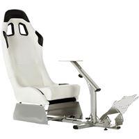 Cadeira Gaming Fundrive RS80 - Branco | Preto