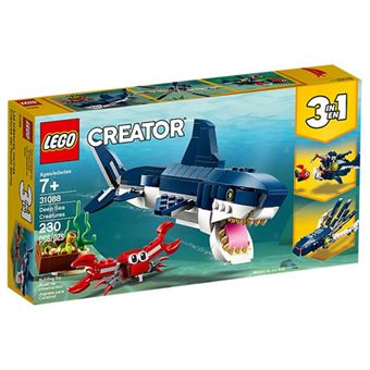 LEGO Creator 31088 Criaturas do Fundo do Mar