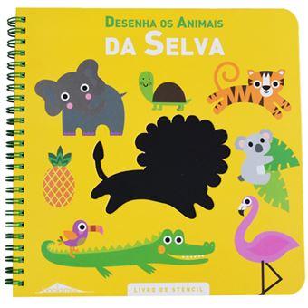 Desenha os Animais da Selva