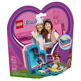 LEGO Friends 41387 A Caixa-Coração de Verão da Olivia