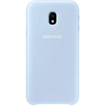 Capa Samsung Dual Layer para Galaxy J3 2017 - Azul
