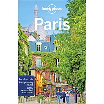 Lonely Planet Travel Guide - Paris