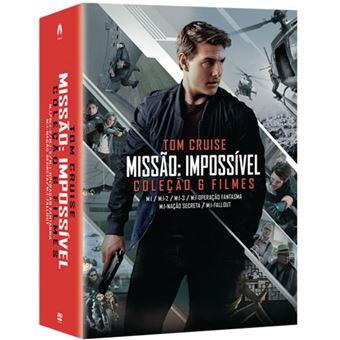 Pack Missão Impossível - Coleção 6 Filmes - 6DVD