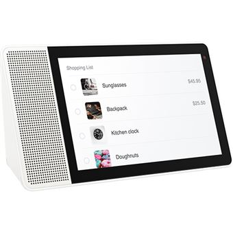 Lenovo Smart Display 10.1'' com Google Assistant - Bamboo