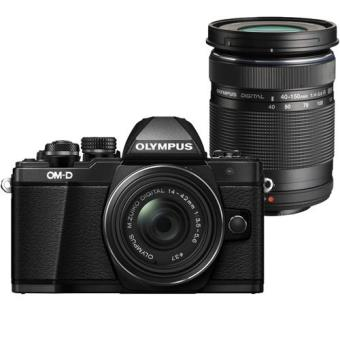 Olympus OM-D E-M10 Mark II + M.Zuiko Digital ED 14-42mm f/3.5-5.6 EZ + M.Zuiko Digital ED 40-150mm f/4.0-5.6 R (Preto)