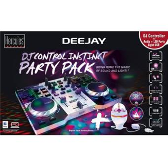 Hercules DJ Control Instint PartyPack