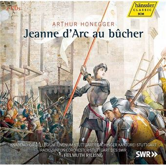 Jeanne d'Arc au bucher - CD