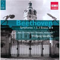 Symphonies No.1-3 & 8