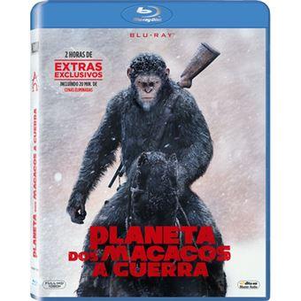 Planeta dos Macacos: A Guerra - Blu-ray