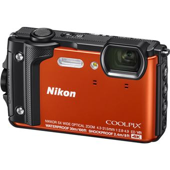 Nikon COOLPIX W300 - Laranja