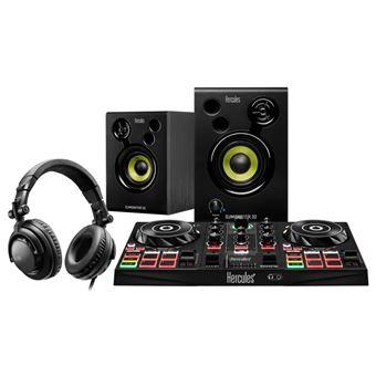 Pack Hercules DJ Learning Kit - Controlador DJ Control Inpulse 200 + Altifalantes de monitorização DJMonitor 32 + Auscultadores HDP DJ45
