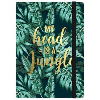 Caderno de Notas Médio Legami - My Head is a Jungle
