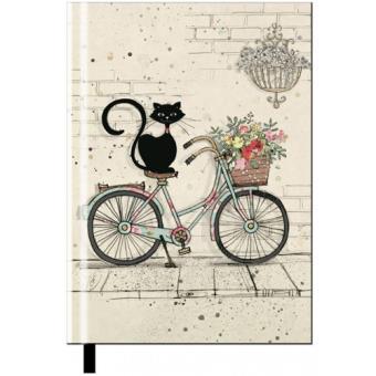 Caderno Liso Chats - Bicicleta A5