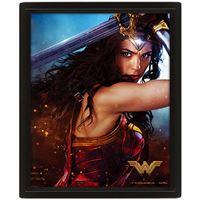 Poster 3D Wonder Woman