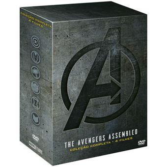 The Avengers Assembled - Coleção 4 Filmes - 4DVD