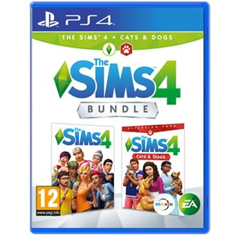 The Sims 4 + Cats and Dogs Expansion Pack - PS4