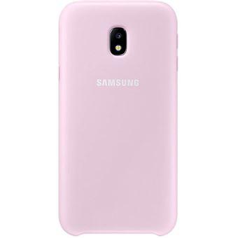 Capa Samsung Dual Layer para Galaxy J3 2017 - Rosa