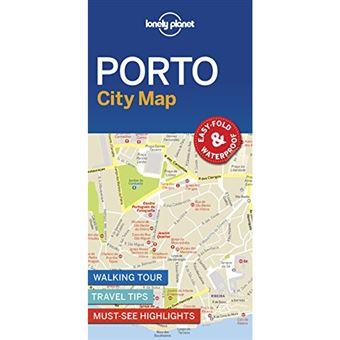 Lonely Planet City Map - Porto
