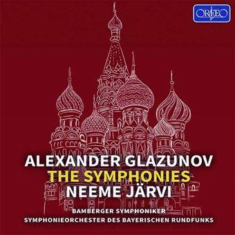 Alexander Glasunow: The Symphonies - 5CD