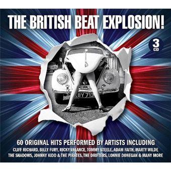 British Beat Explosion - 3CD