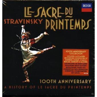 Stravinsky   Le Sacre du Printemps (4CD)