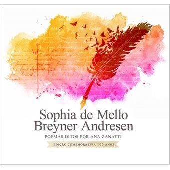 Sophia de Mello Breyner Andresen: Poemas Ditos por Ana Zanatti - CD