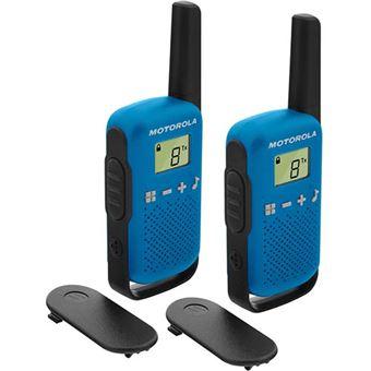 Walkie Talkie Motorola TLKR T42 - Azul
