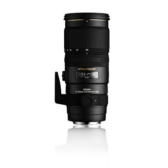 Sigma APO 70-200mm F2.8 EX DG OS HSM SLR Teleobjetiva Preto