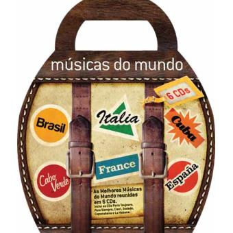 Box Músicas do Mundo (6CD)