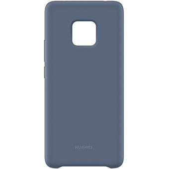 Capa Silicone Huawei para Mate20 Pro - Azul