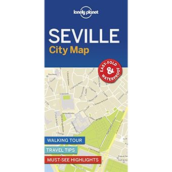 Lonely Planet City Map - Seville