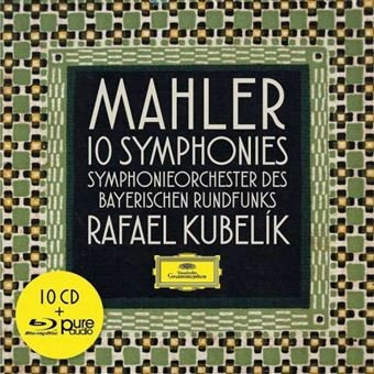Mahler: 10 Symphonies - 10CD + Blu-ray
