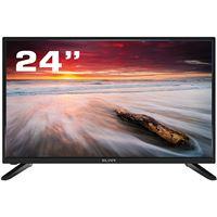 """TV Silver 24"""" HD LED LE494397 60cm - Preto"""