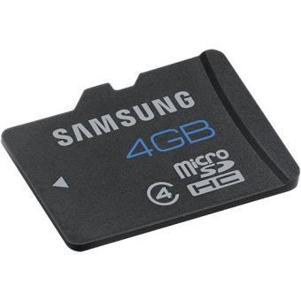 Samsung Standard MicroSDHC 4GB 24MB/s Class4 HS
