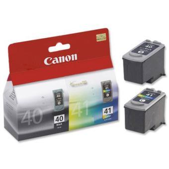 Canon Pack Tinteiros PG-40 Preto + CL-41 Cores