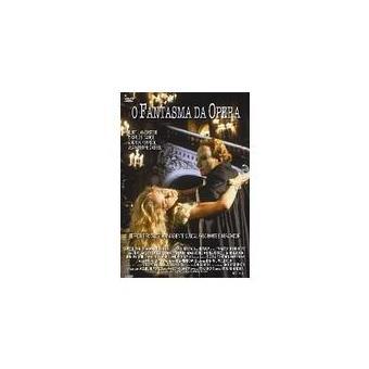 Fantasma da Ópera - DVD Zona 2